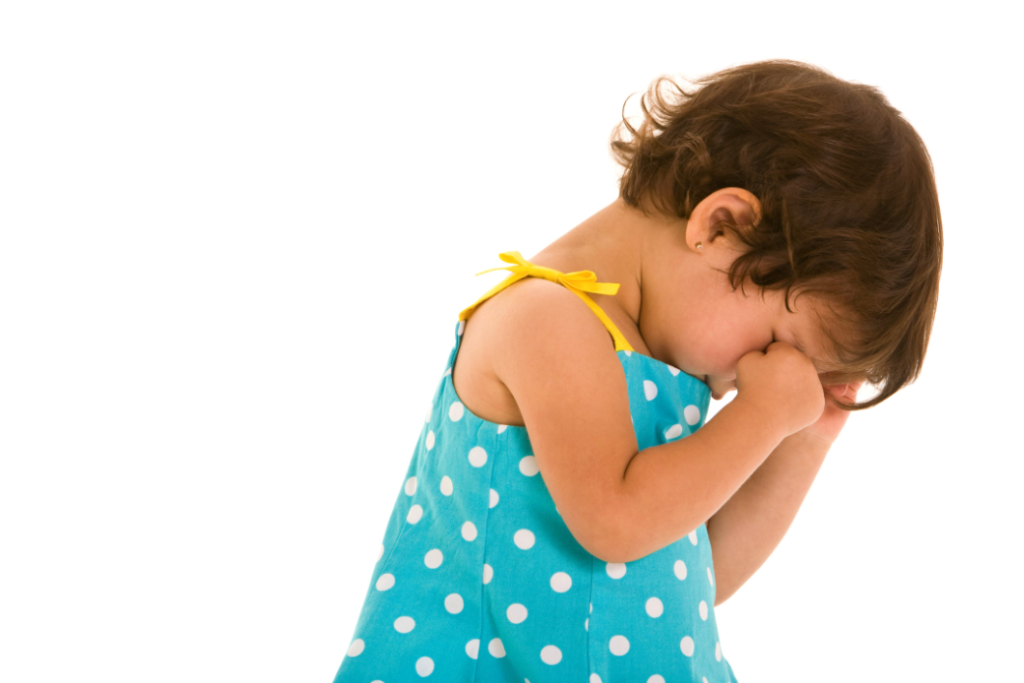 Image of Young Child Rubbing Eyes