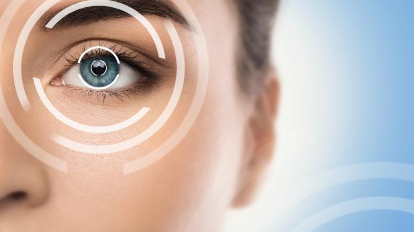 Concept of laser eye surgery