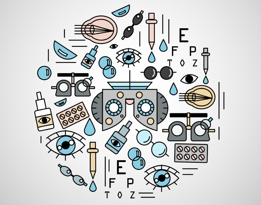 Ophthalmologist Vectors