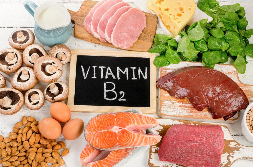Vitamin B2 rich foods